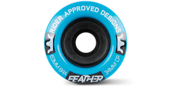 63MM FEATHER - 84A BLUE - RF63844-BLU-63