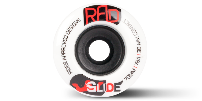 70MM GLIDE - 78A WHITE - R7078124-WHT-70